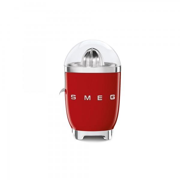 SMEG 50's Retro Style Zitruspresse, Rot, Fruchtpresse, Filtersieb und Anti-Tropf-Auslauf aus Edelsta