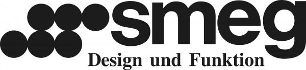 SMEG 50's Retro Style Zitruspresse, Schwarz, Fruchtpresse, Filtersieb und Anti-Tropf-Auslauf aus Ede